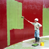 Example of a Chemically Resistant Wall Coatings