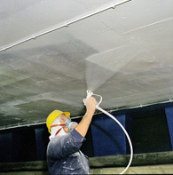 Example of a Spray Applied Wall & Ceiling Coatings